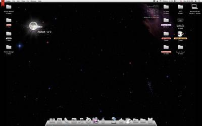 June Desktop with Geek tool by The-Golden-Princess