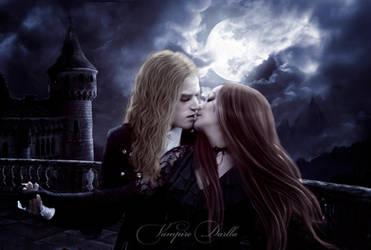The Kiss of the Vampire by VampireDarlla