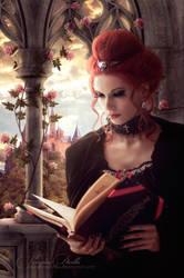 Lady On A Balcony by VampireDarlla