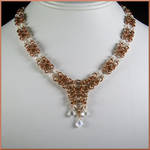 Aeval Chainmaille Bridal Necklace by EchoMoonJewelry