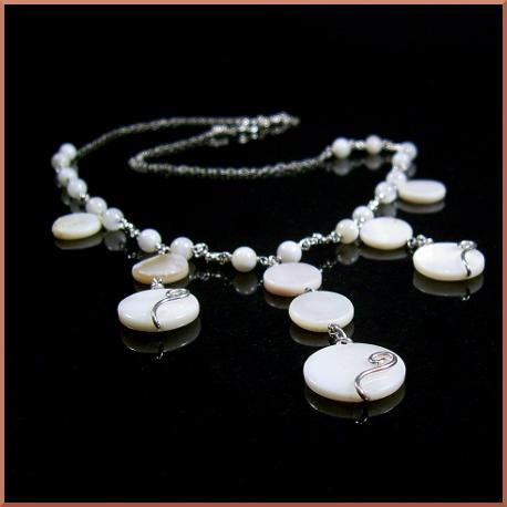 Kanti Bridal Necklace by EchoMoonJewelry