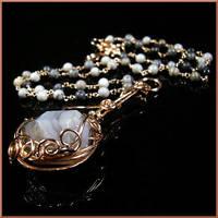 Bau Necklace by EchoMoonJewelry