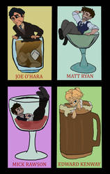 Alcoholic Drinks Pt1  by Creative-Blossom