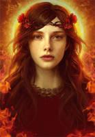 The high Priestess by GerryArthur