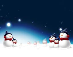 SnowMan WallPaper by caj6984