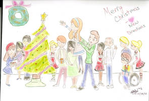 Glee Christmas Tree by Silverlily909