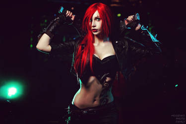 Katarina league of legends cosplay by RainJuneCosplay