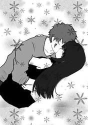 Kiba x Hinata by Kasshi