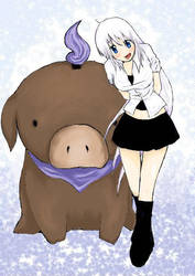 Meh and my tobi by Kasshi