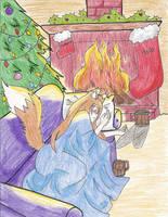 Waiting For Santa by Nina-Lupus