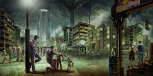 underground city by TylerEdlinArt