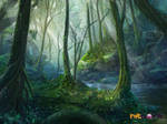 forest concept by TylerEdlinArt