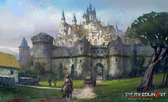 City of Azeria by TylerEdlinArt