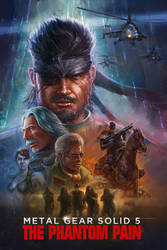 MGS 5 the VHS cover by TylerEdlinArt