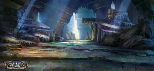 fatecraft Cave by TylerEdlinArt