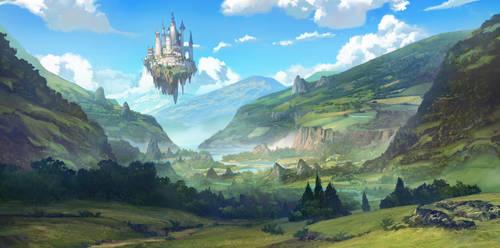 lost valley by TylerEdlinArt