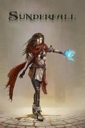 Sunderfall Character: Kari by TylerEdlinArt