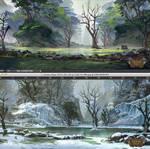 therion saga swamp tiles by TylerEdlinArt