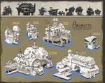 Sunderfall: fundamentals of architecture design by TylerEdlinArt