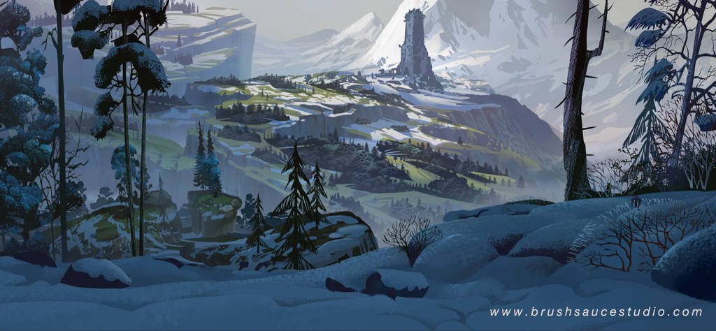 fatecraft tower by TylerEdlinArt