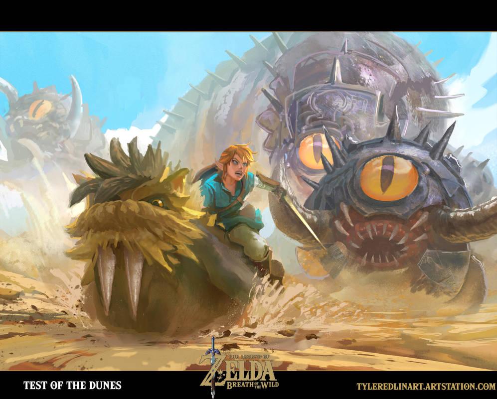 breath of the wild fanart 1 by TylerEdlinArt