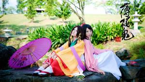 Hakuouki: Chizuru,Senhime by Mm-miyoko