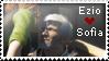 Ezio x Sofia Stamp by Deshmund