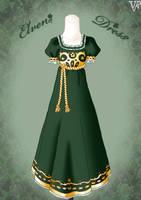Elven Dress by Neko-Vi