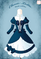 Classic Lolita Winter Dress by Neko-Vi