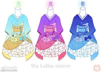 Wa Lolita Sisters by Neko-Vi