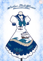 Sailor Loli Dress by Neko-Vi