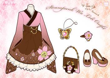 Steampunk Wa Loli Outfit by Neko-Vi