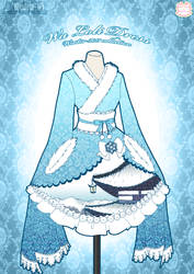 Wa Loli Winter Dress by Neko-Vi