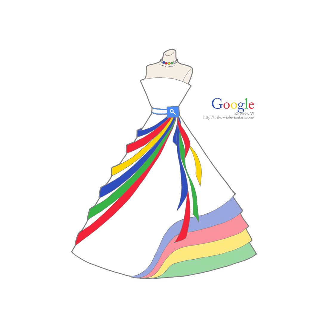 Google in Fashion by Neko-Vi