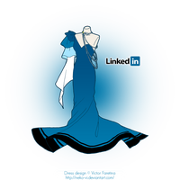 LinkedIn in Fashion by Neko-Vi