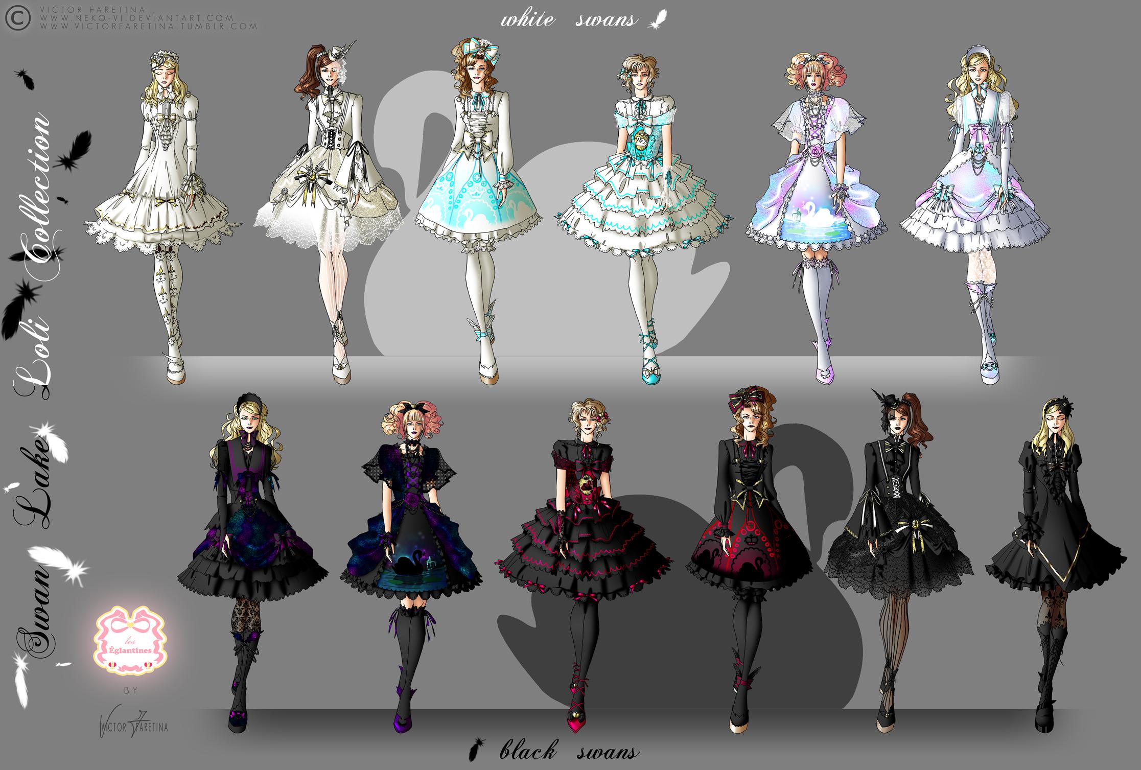 Swan Lake Loli Collection by Neko-Vi