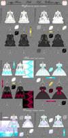 Swan Lake Loli Collection: TECHNICAL DETAILS by Neko-Vi