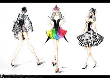 Through black, white, and colours by Neko-Vi