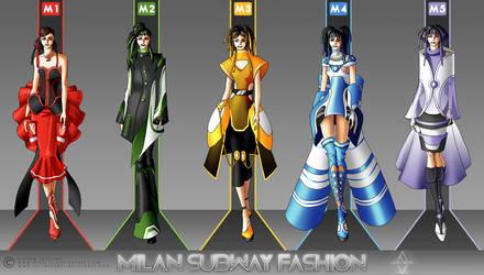 Milan Subway Fashion by Neko-Vi