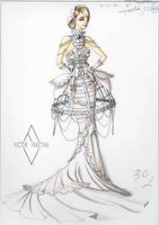 Haute Couture Wedding by Neko-Vi