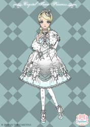 Crystal Snow Princess (ADOPTABLE) by Neko-Vi