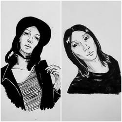Junki Sketches by BlackSpiralDancer1