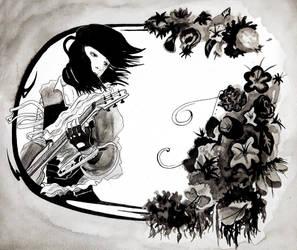 Ink Rock by BlackSpiralDancer1