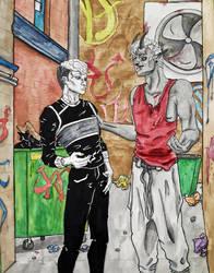 Slate and Lore by BlackSpiralDancer1