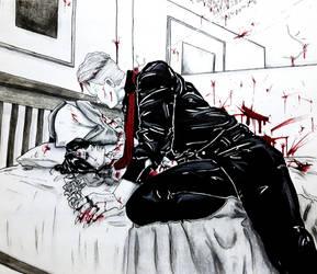Bed of Blood by BlackSpiralDancer1