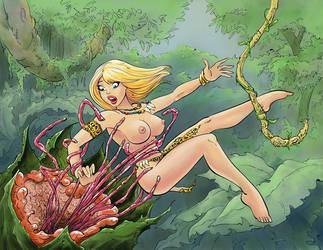 Jungle Girl by schtonck