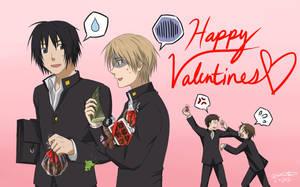 Happy Valentines Natsume by baka-kiiro
