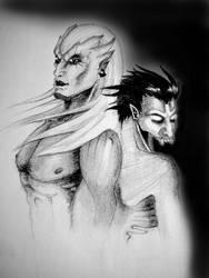 Kain and Raziel by SecondPhilosophy