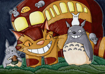 Totoro by Jacura