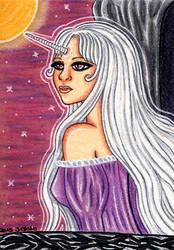#46 Lady Amalthea (KakaoCard/ACEO/ATC) by Jacura